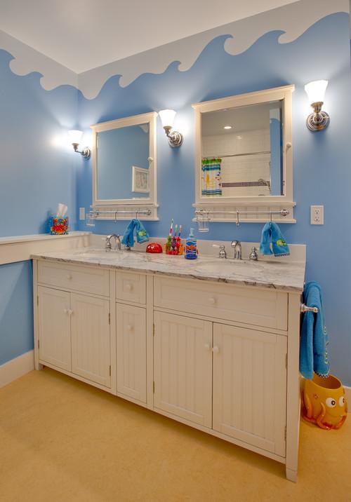 Custom Home Building: Get Creative with a Kids Bathroom Design