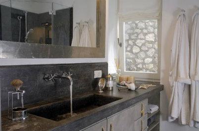concrete bathroom design