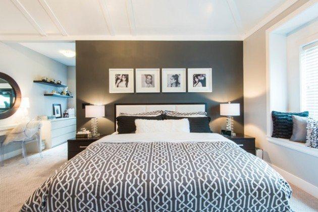 Custom Home Building: Consider Dark Walls in Your Bedroom Design