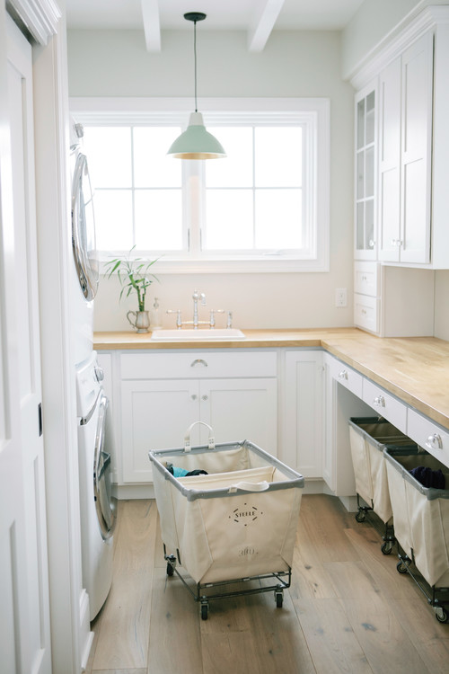 Designing a Traditional Laundry Room