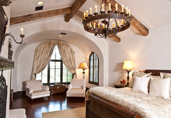 You'll love the Elegant look of a Mediterranean Bedroom Design