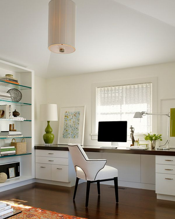 Consider the Functionality of a Minimalist Home Office Design